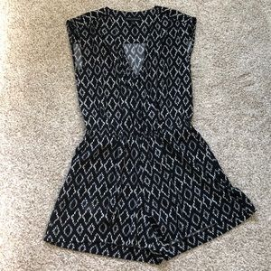 Banana Republic Printed Romper | 0P